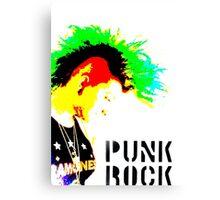 Punk Rock Mohawk Canvas Print