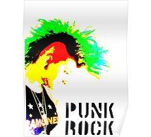 Punk Rock Mohawk Poster