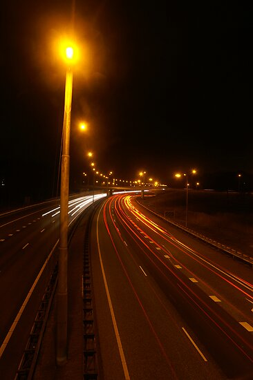 Long exposure speedcamera by PeterBusser