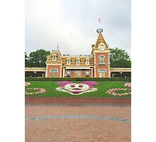 Welcome to Disneyland Photographic Print