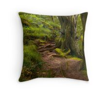 Northumberland Woodland Throw Pillow