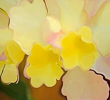 Spring Abstract by leslie wood