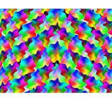 Rainbow Ripple Photographic Print