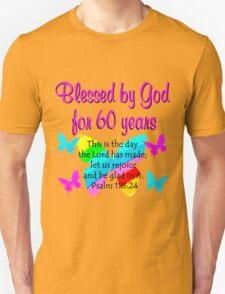 CHRISTIAN 60TH YEAR OLD BIRTHDAY T-Shirt