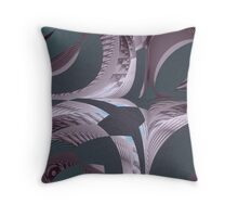 Somewhere in the Stillness Throw Pillow
