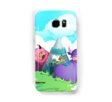 Cute monsters in the nature Samsung Galaxy Case/Skin