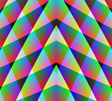 Triangular  Rainbow by Julie Shortridge