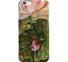 """Master and Follower"" from the series ""In the Lotus Land"" iPhone Case/Skin"