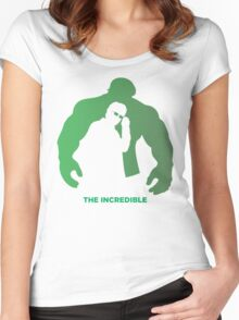 The Incredible Women's Fitted Scoop T-Shirt