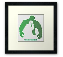 The Incredible Framed Print