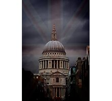 Rule Britania Photographic Print