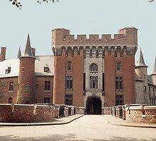 Wijnendale Castle - Belgium by Gilberte
