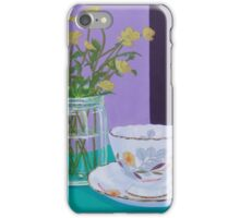Water Meadow, Butter cup floral iPhone Case/Skin