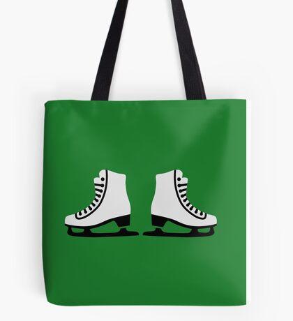Figure skating skates Tote Bag