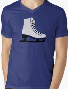 Figure skating skate Mens V-Neck T-Shirt