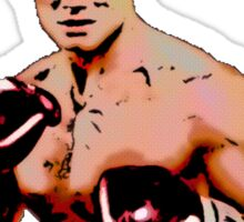 ivan drago comic-book style - if he dies...he dies Sticker