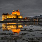 Evening Light on Eilean Donan Castle by Martin Lawrence