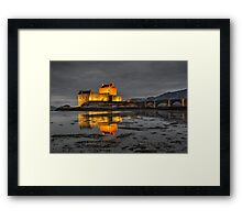 Evening Light on Eilean Donan Castle Framed Print