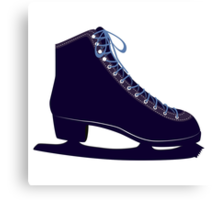 Ice skate Canvas Print