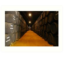Barrels at Harveys Bristol Cream, Jerez - Spain Art Print