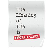 Spoiler Alert Poster