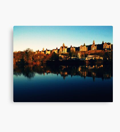 The Long House Canvas Print
