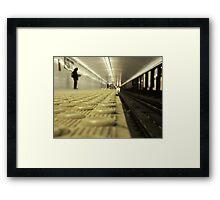 Wait Ends Framed Print