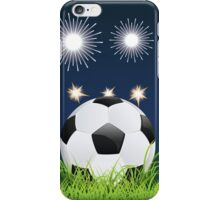 Soccer Ball and Night Stadium iPhone Case/Skin