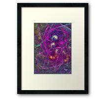 'Simple Abstract 005' Framed Print