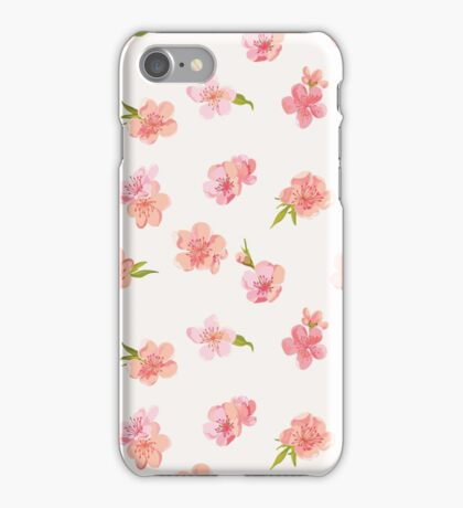 Spring Blossom Flowers iPhone Case/Skin