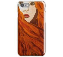 Flames & Freckles iPhone Case/Skin