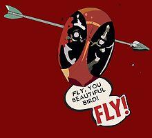 Fly You Beautiful Bird by Tift23