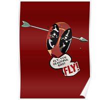 Fly You Beautiful Bird Poster