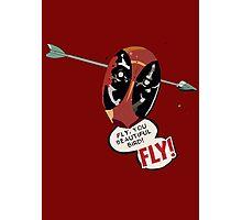 Fly You Beautiful Bird Photographic Print
