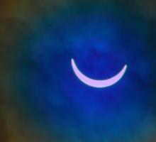 The Solar Eclipse 2 Sticker