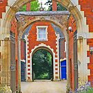 Red Brick Arches - English Countryside by Rebecca Silverman