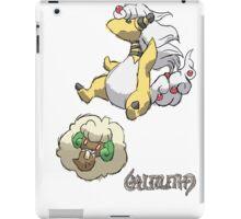 Ben's Mega Ampharos & Whimsicott iPad Case/Skin