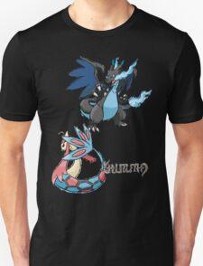 Kelly's Mega Charizard X & Milotic Unisex T-Shirt