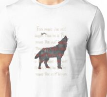 Fear the wolf Unisex T-Shirt