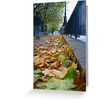 A Walk By The Thames Greeting Card