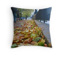 A Walk By The Thames Throw Pillow