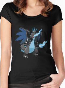 Kelly's Mega Charizard X Women's Fitted Scoop T-Shirt