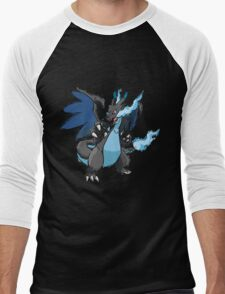 Kelly's Mega Charizard X Men's Baseball ¾ T-Shirt