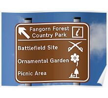 Fangorn Forest Country Park Poster