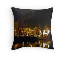 Barnes Pond Throw Pillow