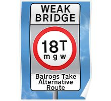 Weak Bridge Poster
