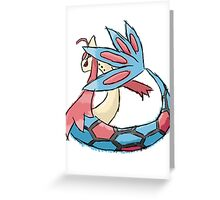 Kelly's Milotic Greeting Card