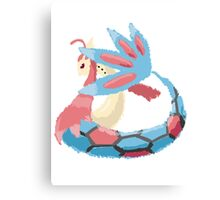 Kelly's Milotic (No outline) Canvas Print