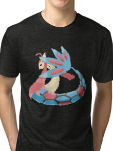 Kelly's Milotic (No outline) Tri-blend T-Shirt