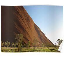 Morning Uluru Poster